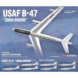 Academy  1/144   USAF B-47...