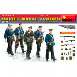MiniArt  1/35  Soviet Naval...