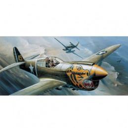 Academy  1/72   P-40E