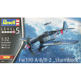 Revell 1/32  Fw190 A-8/R-2...