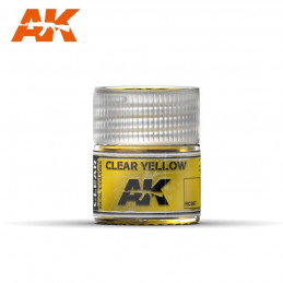 AK Interactive   Clear Yellow