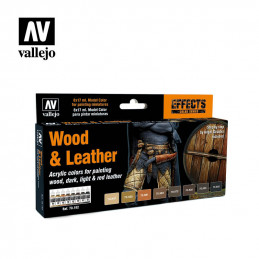 Vallejo    Wood & Leather -...