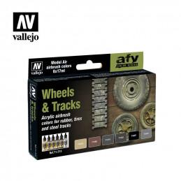 Vallejo   Wheels & Tracks -...