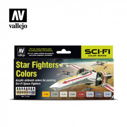 Vallejo    Star Fighters...