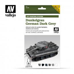 Vallejo  Dunkelgrau German...