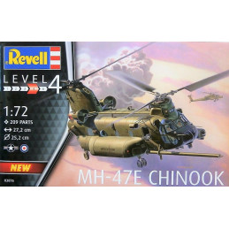 Revell  1/72   MH-47E  CHINOOK