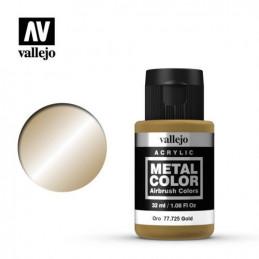 Vallejo   Metal Color Oro
