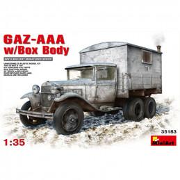 MiniArt  1/35  GAZ-AAA w/Shelter
