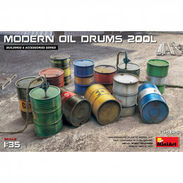 MiniArt  1/35  Modern Oil...
