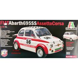 Italeri   1/12  Fiat Abarth...