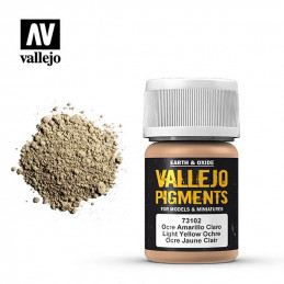 Vallejo Pigments  Ocre...