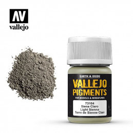 Vallejo Pigments  Siena Claro