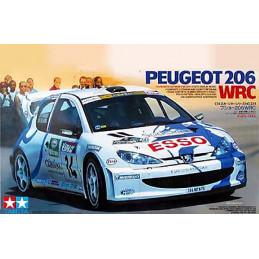Tamiya  1/24   Peugeot 206 WRC