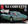 AMT   1/25    '63 Corvette Sting Ray