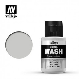 Vallejo   Model Wash  Gris...