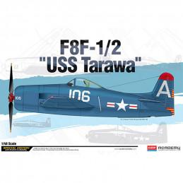 "Academy  1/48  F8F-1/2 ""USS..."