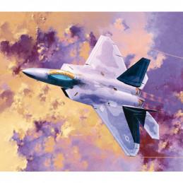 Academy  1/72 USAF F-22A...