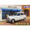 Plastic Kit Ebbro  1/24  Renault 4L