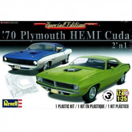 Revell 1/25   70' Plymouth...