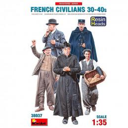 MiniArt  1/35  French Civilians 30-40's