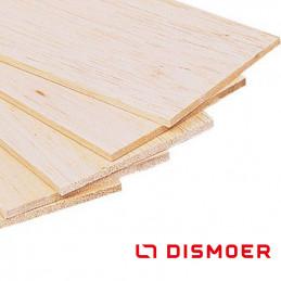Dismoer Balsa Wood Plank 100X1000X6mm