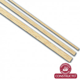 Constructo Basswood Rod 5mm 1m