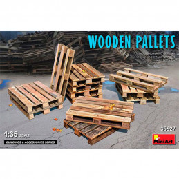 MiniArt   1/35   Wooden...