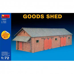 MiniArt  1/72  Goods Shed