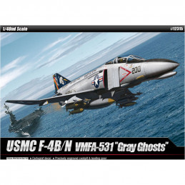 Academy  1/48  USMC F-4B/N...