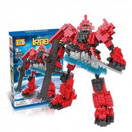 LOZ  I-ROBOTS  Vermell -...