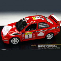 Die Cast  1/43  Mitsubishi Lancer Evolution VI. Rallye Monte-Carlo 1999 Tommi Makinen-Risto Mannisenmaki