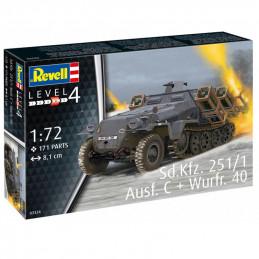Revel  1/72   Sd.Kfz. 251/1...