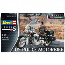 Revell  1/8   U.S. Police...
