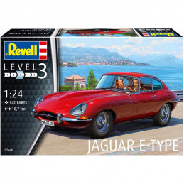 Revell  1/24    Jaguar E-Type