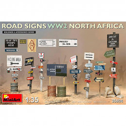 MiniArt  1/35  Road Signs...