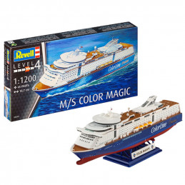 Revell  1/1200   M/S COLOR...