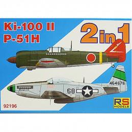RS Models  1/72  Ki-100 II...