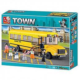 Sluban  Town  School bus