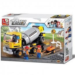Sluban  Town  Concrete trucks
