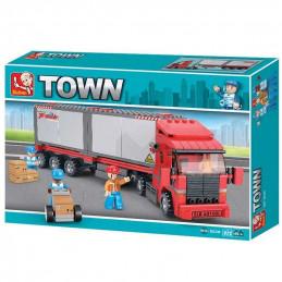 Sluban  Town  Camión con...