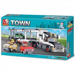 Sluban Town  Truck with...