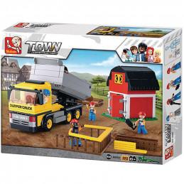 Sluban  Town  Dump Truck...