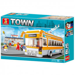 Sluban Town  Trolleybus