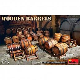 MiniArt  1/35  Wooden Barrels