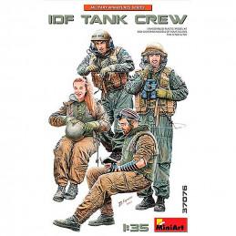 MiniArt  1/35  IDF  Tank  Crew