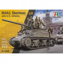 Italeri   1/35  M4A1...