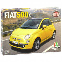 Italeri  1/24  FIAT 500  2007
