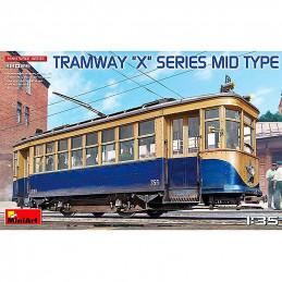 """MiniArt  1/35  Tramway """"X""""..."""