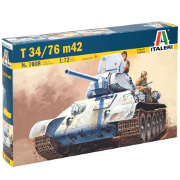 Italeri  1/72  T34/76 m42