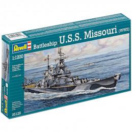 Revell  1/1200  Battleship...